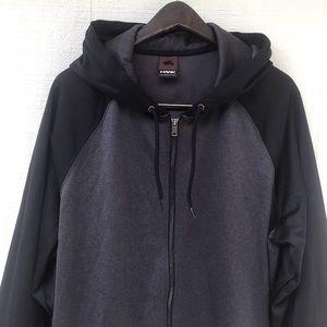 Men's zip up hoodie light jacket